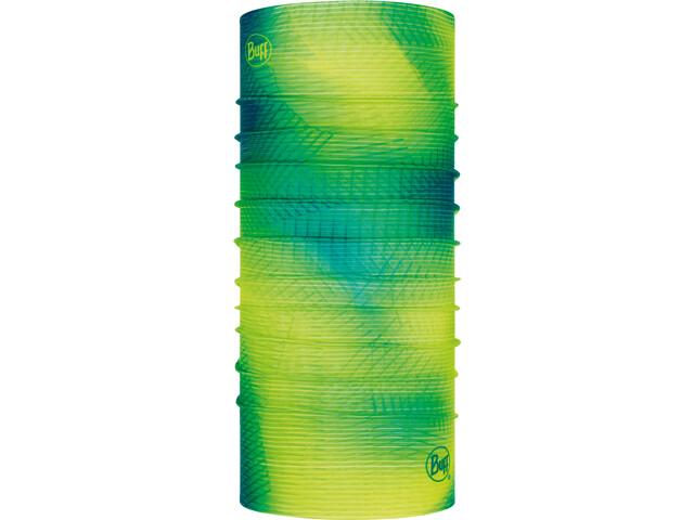 Buff Original Reflective Tour de cou, reflective-spiral yellow fluor